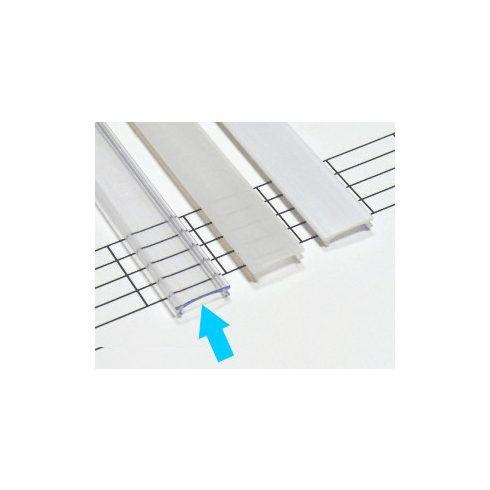 Kryt PVC pre profily typu COSMO - číry