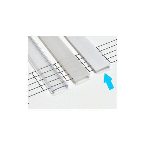 Kryt PVC pre profily typu X, MICRO - mliečny