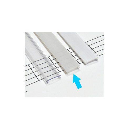Kryt PVC pre profily typu X, MICRO - polomliečny