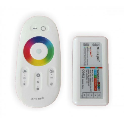RGBW kontrolér Mi-Light (sada kontrolér + ovládač)